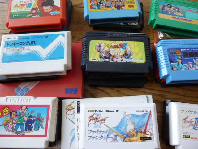 ファミコン・ゲーム・カセット