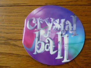 Crystal ball ブックレット