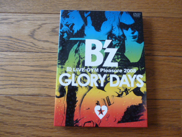 B'z LIVE GYM Pleasure 2008 GLORY DAYS